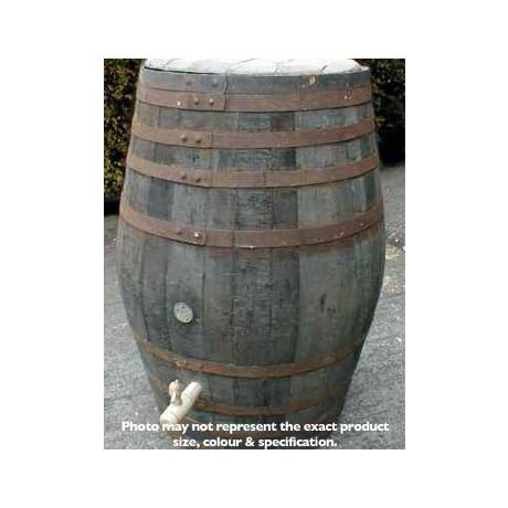 Barrel Amp Garden 100 Gallon Rustic Oak Barrel Water Butt