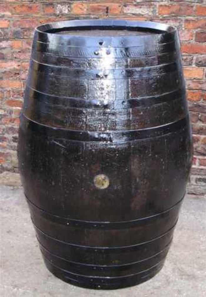 Barrel Amp Garden Dark Beer Tables 100 Gallon Size