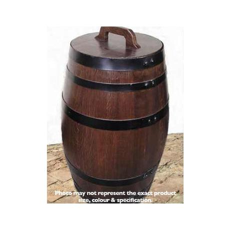 barrel garden 11 gallon small water butt. Black Bedroom Furniture Sets. Home Design Ideas