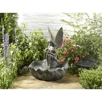 Fairy Leaf Solar Water Feature
