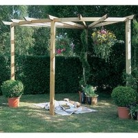 Radial  Pergola 90 Degrees