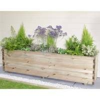 Lomello Wooden Planter - Trough