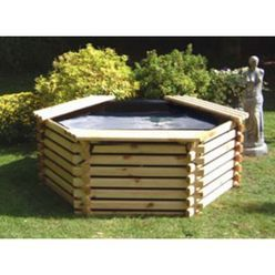 Log-sided Pools