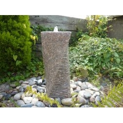 50cm Pinky Twisted Cascading Column Fountain
