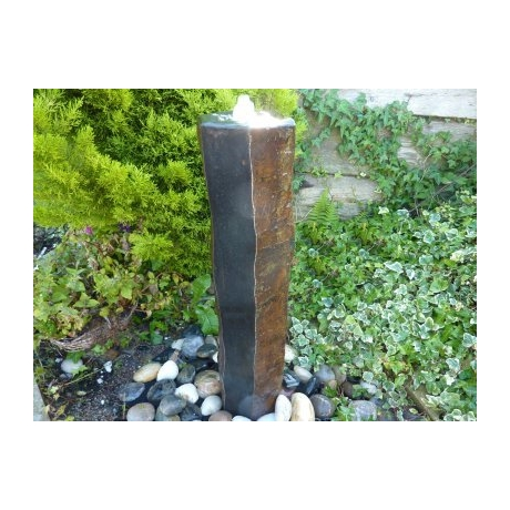 Basalt Column Fountain 70cm - Polished Top & 2 Sides