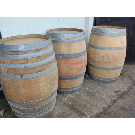 French Wine Barrel Table - 225L