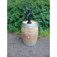 250L French Wine Pump Barrel - Rose Pump