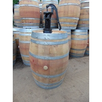 250L French Wine Pump Barrel - Pitcher Pump