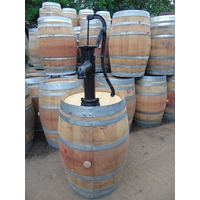 250L French Wine Pump Barrel - Village Pump