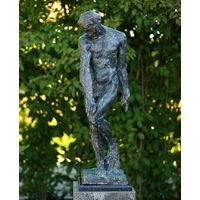 Adam Bronze Statue From Rodin