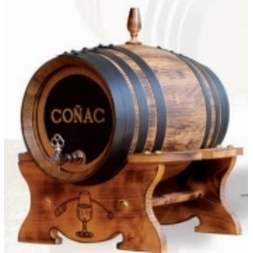 Seasoned Oak 8 Litre Cognac Barrel