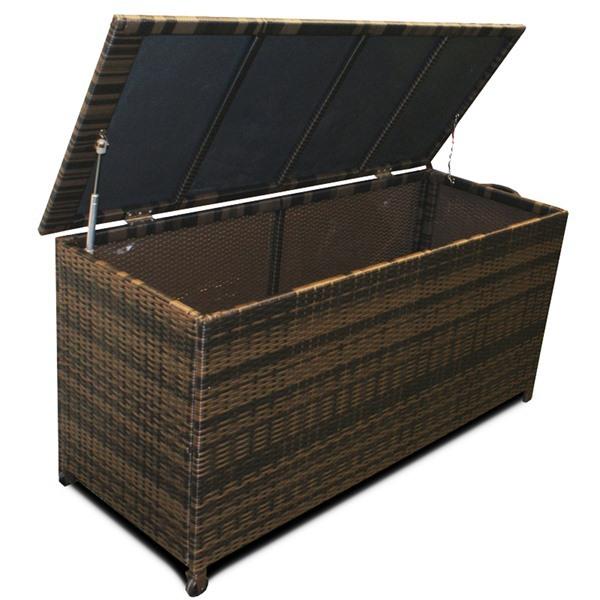Barrel Garden Maze Rattan Large Cushion Storage Box