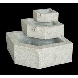 Three-Tier Granite Fountain