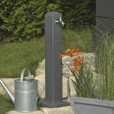 Watering Post - Dark Granite Standpipe