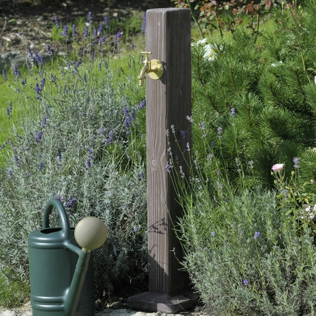 Watering Post - Wood Effect Standpipe