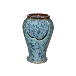 Ceramic Mottled Urn Water Feature