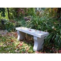 Granite straight bench