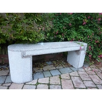 Aberdeen Contemporary Granite Garden Bench
