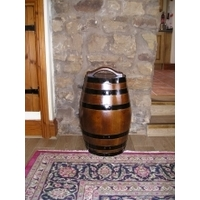 50Litre Oak Storage Barrel - Dark Stained