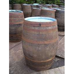 56 Gallon Oak Barrel
