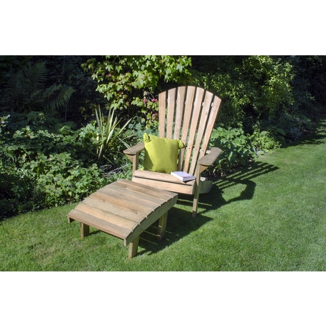 Saragota Garden Chair - Rustic Timber