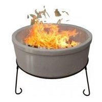 Atlas Jumbo Fire Bowl - Chimalin AFC Clay - Natural