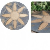 Abbey Petal Circle Paving Kit 1.8mtr - Two Tone