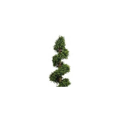 Artificial  Boxwood Spiral Topiary Tree - 170cm
