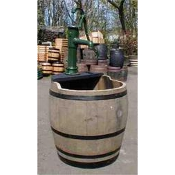 Barrel Water Garden