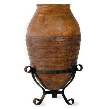 Meditterranean 1 Planter - Antique Terracotta finish