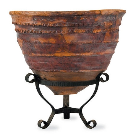 Meditterranean 3 Planter - Antique Terracotta finish