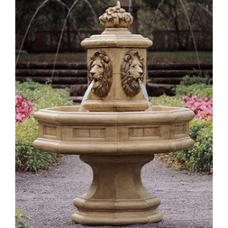 Classic Lion Fountain
