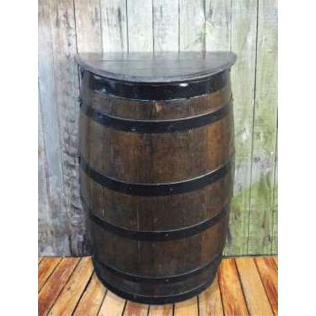 Dark Wall Barrel Table