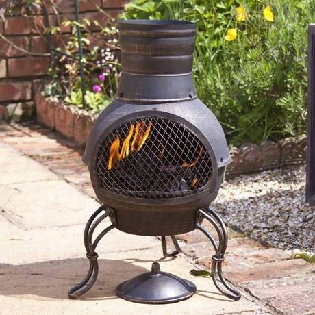 Gardeco Dixie Bronze Mini Chiminea