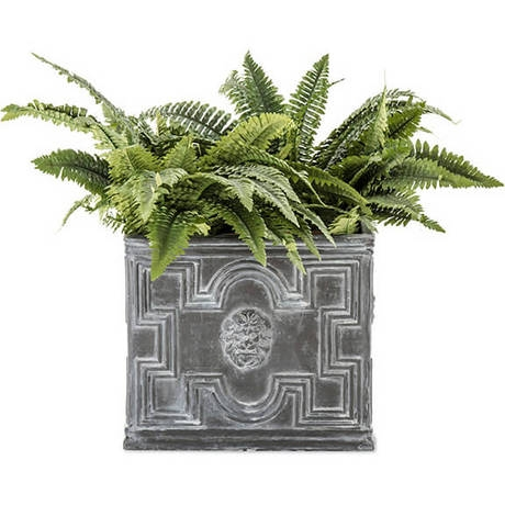 Elizabethan Antique Faux Lead Planters