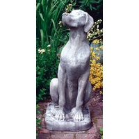 Female Great Dane Dog Stone Statue
