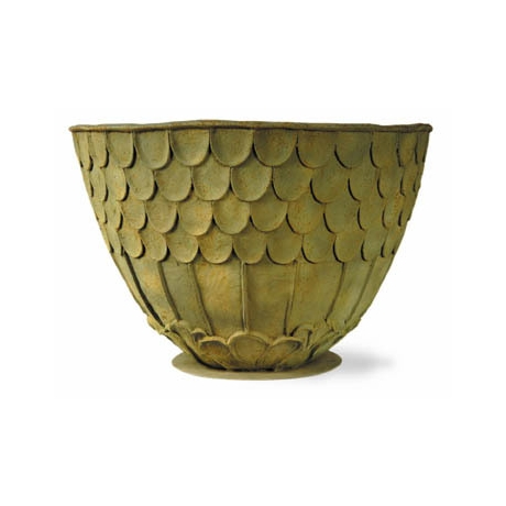 Fish Scale Planter  - Bronzage