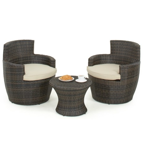 Maze Rattan - Boston Stacking Bistro Set