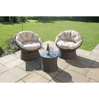 Maze Rattan - Swivel Lounge Set