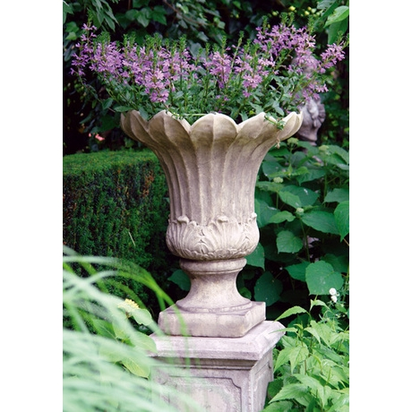 Fluted Vase - Cotswold Stone Planter