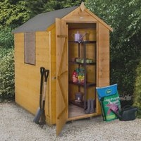 4x6 Shiplap Apex Garden Shed - Dip Treated