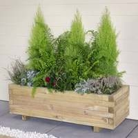 Agen Wooden Planter - Trough