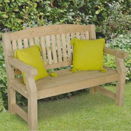 Harvington 4ft Timber Garden Bench