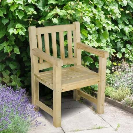 Harvington Timber Garden Chair