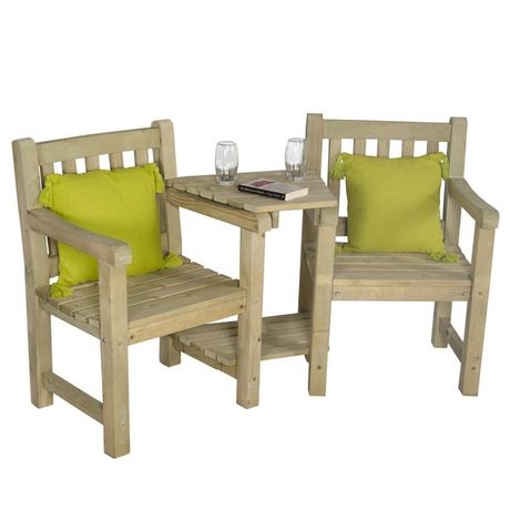 Harvington Timber Garden Love Seat