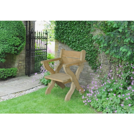 Ragley Garden Chair - Rustic Timber