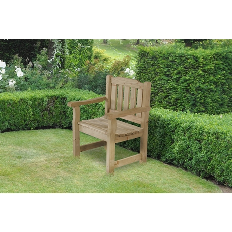 Rosedene Garden Chair - Rustic Timber