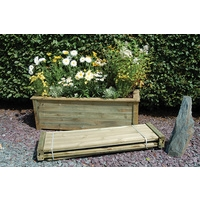 Bamburgh Wooden Planter Kit 150 x 50
