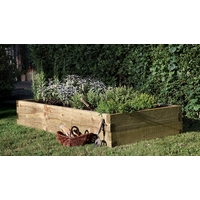 Caledonian Rectangular Raised Bed 180 x 90cm