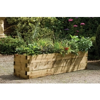 Caledonian Raised Bed - 180 x 45cm Trough